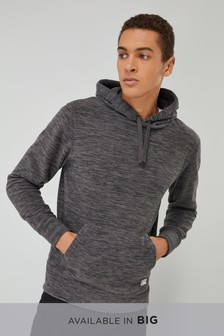 Fabric Interest Fleece Overhead Hoody