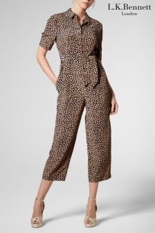 L.K.Bennett Animal Crescida Jumpsuit