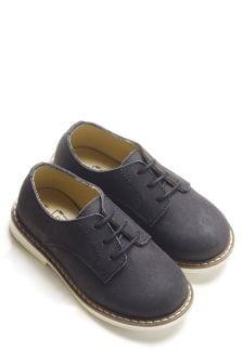 Туфли дерби из итальянской кожи (Младшего возраста)