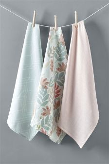 Set of 3 California Tea Towels