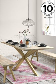 Amsterdam Light 6 Seater Dining Table