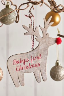 babys first christmas decoration - Narwhal Christmas Decoration