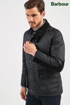 Barbour® Black Strathyre Wax Jacket