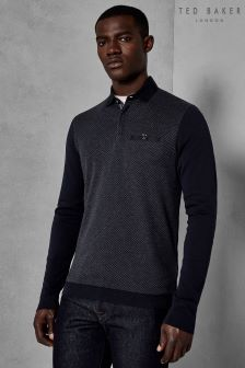 Ted Baker Friend Diamond Front Polo