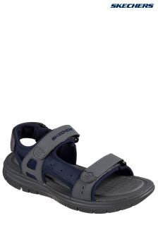 Skechers Blue Flex Advantage 1.0 Upwell Adjustable Strap Trainer