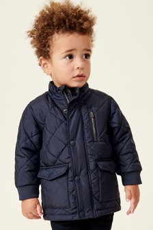 Quilted Bomber Jacket (3mths-7yrs)