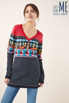 Christmas Wrapping Paper Tunic