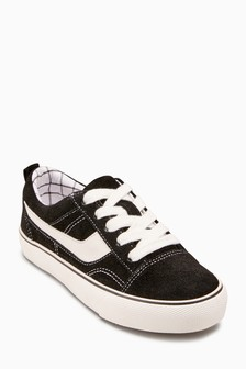 Lace-Up Suede Trainers (Older)