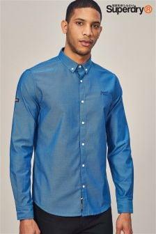 Superdry Long Sleeve Oxford Shirt