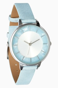Resin Detail Dial Watch