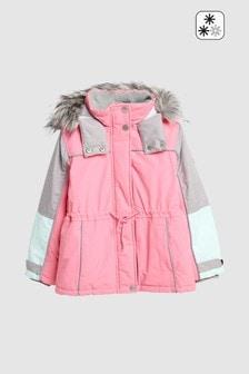 Практичная куртка с разноцветными вставками (3-16 лет)