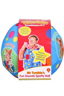 Mr Tumbles Fun Sounds Spotty Ball