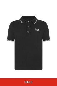 Boss Kidswear Boys Cotton Pique Polo Top