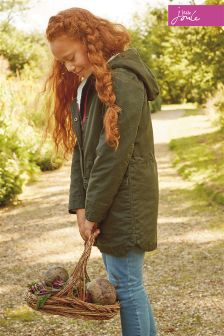 Joules Everglade Clover Parka