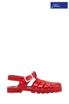 Joules Jelly Schuhe mit mehrere Riemen, Rot