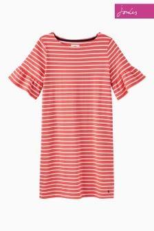 Joules Red Sky Stripe Sienna Dress
