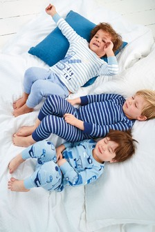3 Pack Digger Snuggle Pyjamas (9mths-8yrs)
