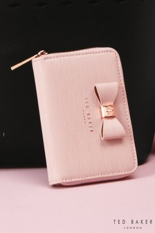 Ted Baker Aureole Pink Bow Purse