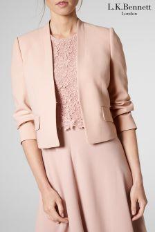 L.K.Bennett Pink Barley Sugar Rosie Jacket