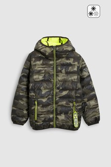 Padded Jacket With Keyring (3-16yrs)