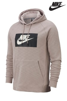 Nike Optic Pumice Logo Pullover Hoody