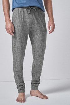 Трикотажные спортивные брюки с кромкой на резинке