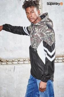 Superdry Camo/Black Jared Overhead Jacket