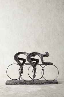 Cyclists Sculpture