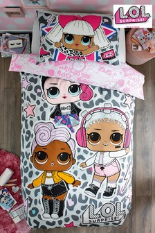 L.O.L. Surprise! Duvet Cover and Pillowcase Set