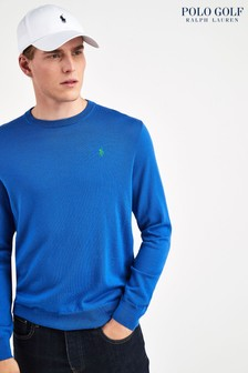Ralph Lauren Polo Golf Blue Crew Jumper