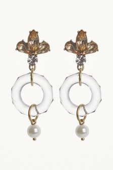 Stone Crystal Effect Earrings