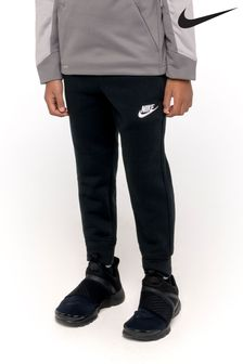Nike Little Kids Black Fleece Joggers