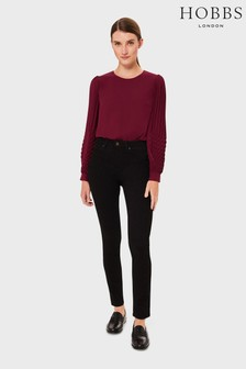 Hobbs Red Katia Blouse
