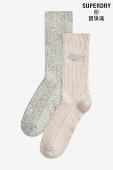 Superdry Multi 2 Pack Socks