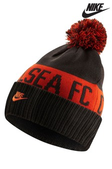 Nike Grey Chelsea Football Club Pom Beanie