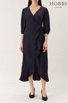 Hobbs Blue Sara Dress