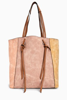 Knotted Strap Shopper