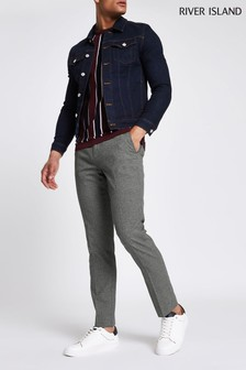 River Island Grey Smart Trouser