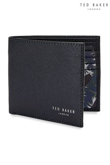 Ted Baker Navy Leather Wallet