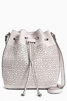 Laser Cut Duffle Bag