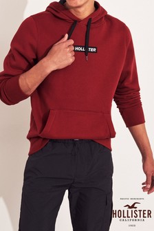 Hollister Burgundy Hoody