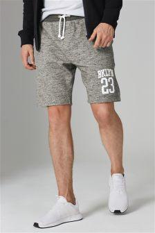 Appliqué Jersey Shorts