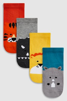 Animal Socks Four Pack (Younger)
