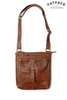 Fat Face Chestnut Lily Rich Grain Cross Body