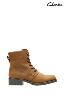 Clarks Brown Orinoco Spice Boots
