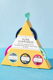 Set of 3 Happiness Body Butters