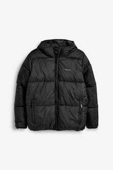 Barbour® Black Ross Quilt Jacket