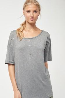 a2930f59 Womens Grey Tops | Ladies Grey Blouses, Wrap & Trim Tops | Next