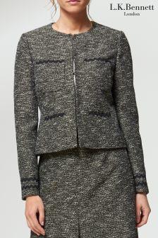 L.K.Bennett Black Rory Jacket