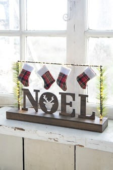 Lit Noel Room Decoration